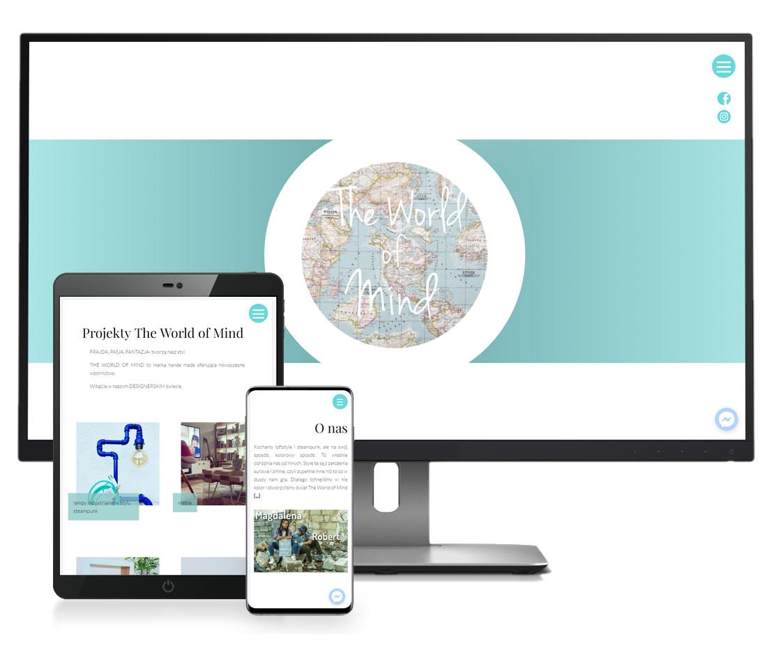 Nowoczesne strony internetowe projektowanie